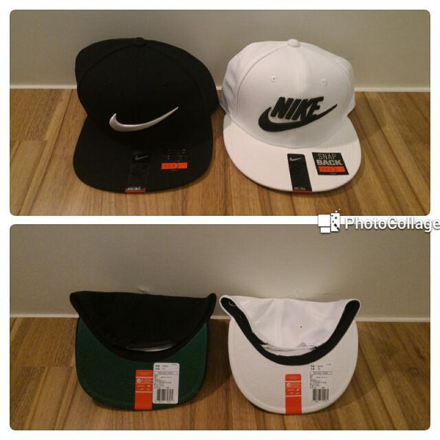 Nike棒球帽全新  黑色$650  白色$750  運費60-店到店