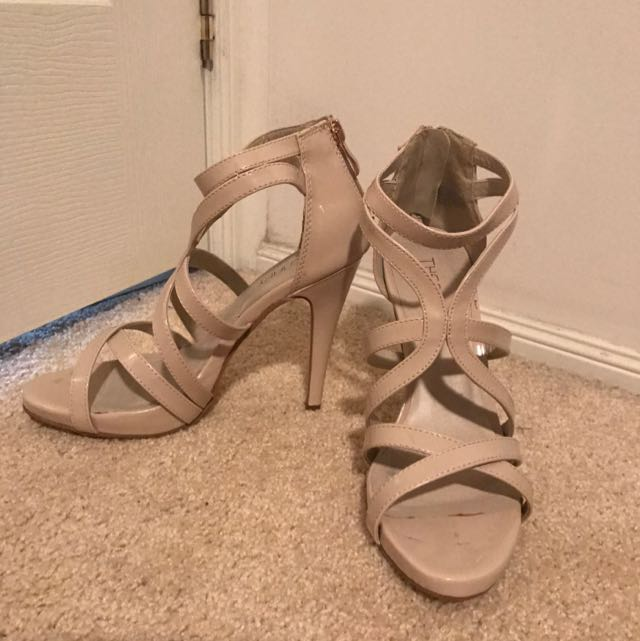 Nude Therapy Heels