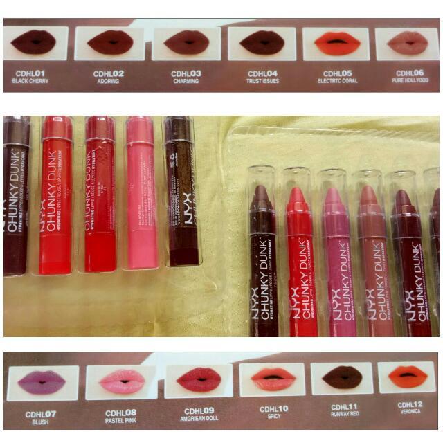 NYX Chunky Dunk Lipstick