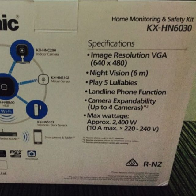 Panasonic Home monitoring system