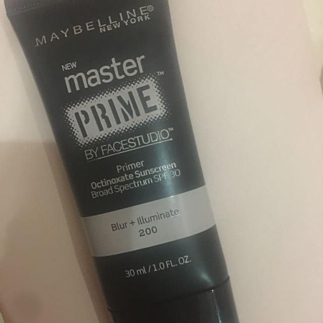 Preloved Maybelline Master Prime Primer
