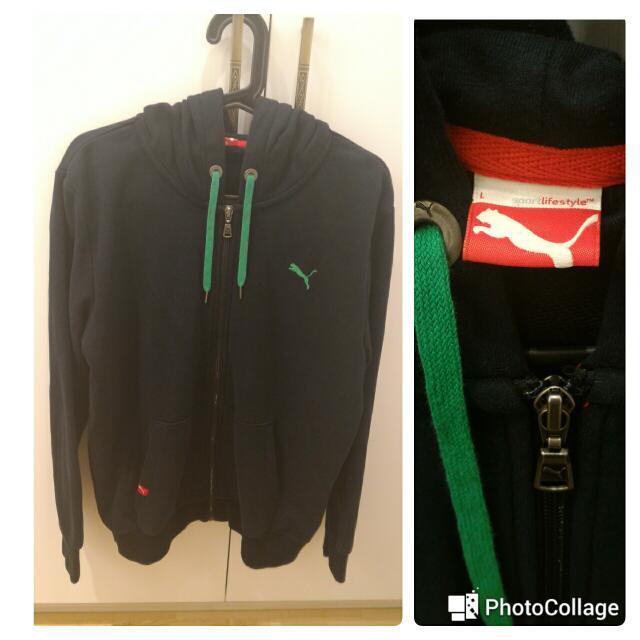 Puma棉外套  近全新,L號  售價:500(便宜出清不二價)  運費:60-店到店
