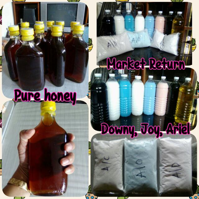 Pure honey and Market Return Product