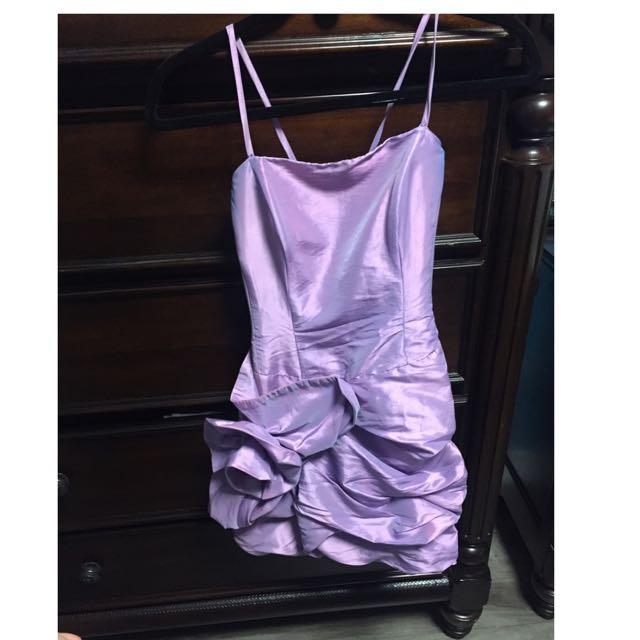 Purple Dress Size Small