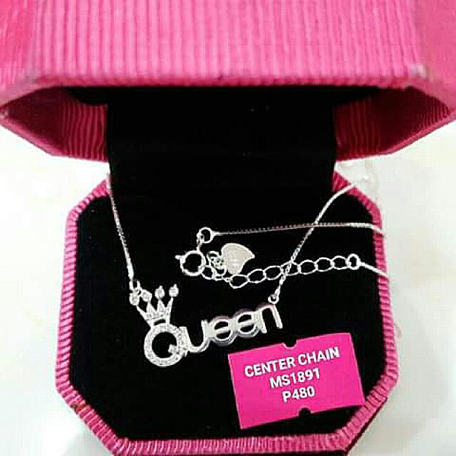 Queen Silver Necklace