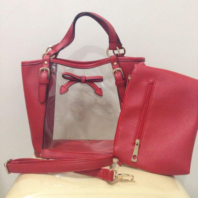 Red Petite Bag