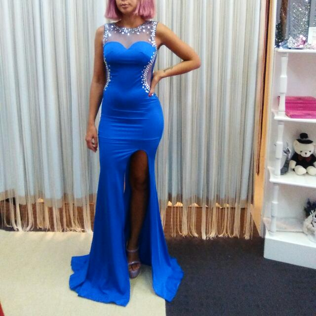 Royal Blue Gown.. 8