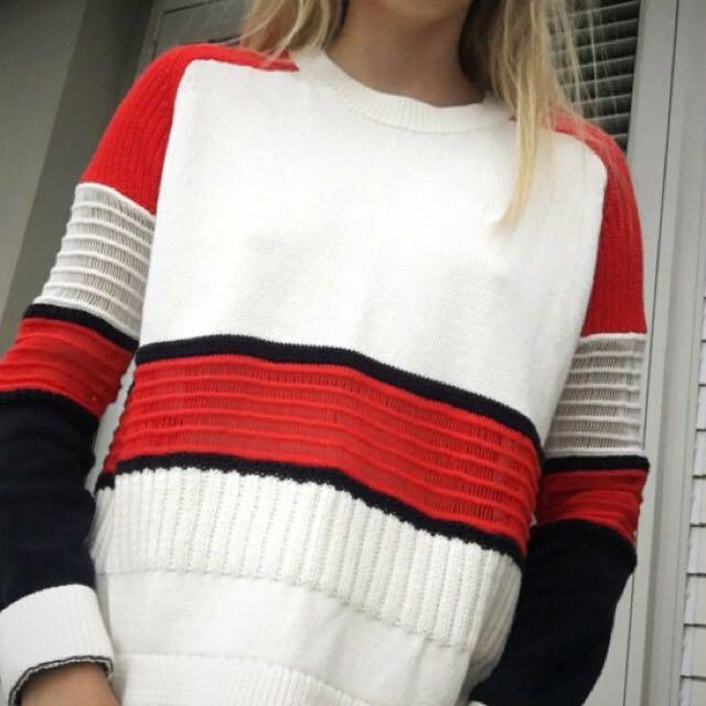 Sass and Bide Mesh Sweater
