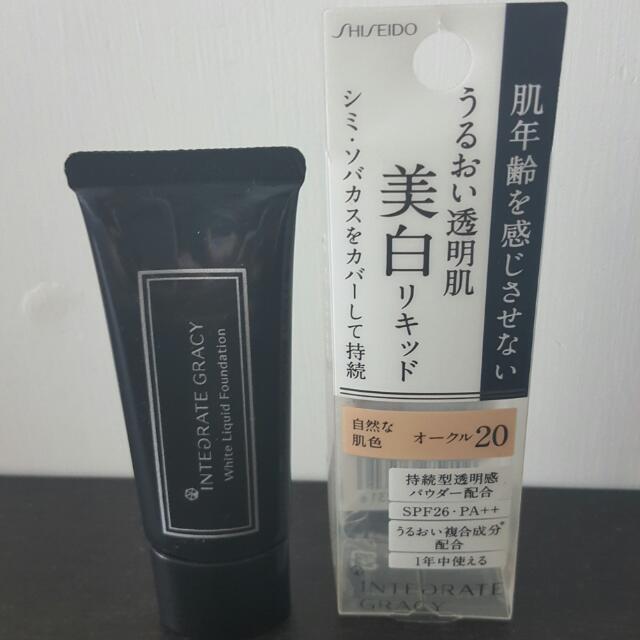 Shiseido 資生堂Integrate 濕粉底液