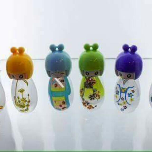sixty three scent personalized doll bottle
