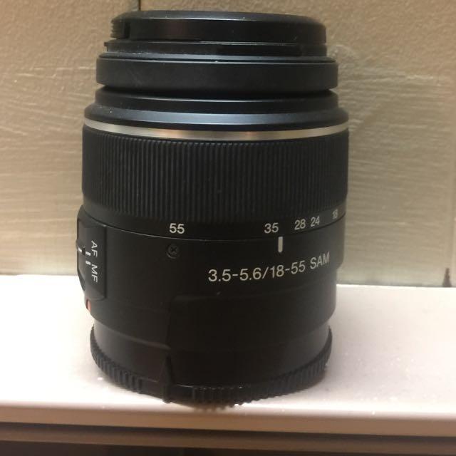Sony SAM 18-55 A mount Lens