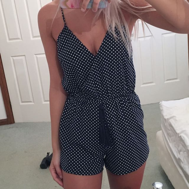 Spotted Playsuit