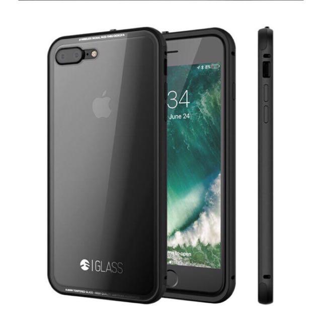 [小謝叔叔](買就送充電線保護扣)switcheasy 保護殼讓曜石黑的美完美呈現iPhone 7 plus(非htc三星Sony