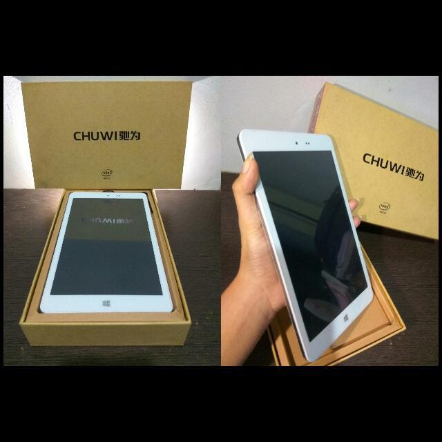 Turun Harga!! Reprice!! Tablet / Tab Chuwi Hi8 Win 10 + Android Kitkat 2GB/32GB 8inch