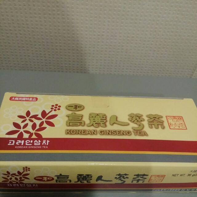 Teh Ginseng Asli Korea