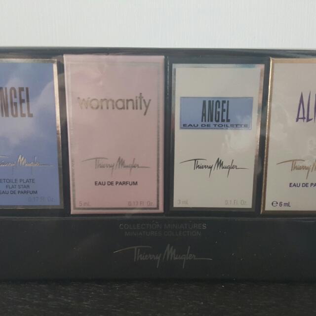 Thierry Mugler 4支香水版限量珍藏套裝