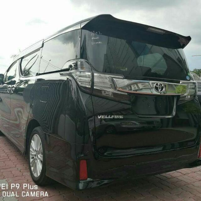 TOYOTA VELLFIRE Z 2 5 YEAR 2015, Cars, Cars for Sale on Carousell