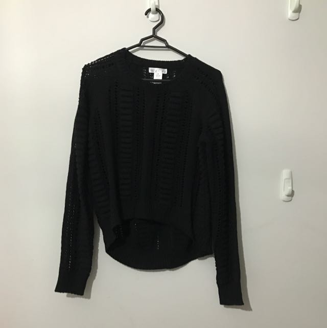 Willah Black Knit