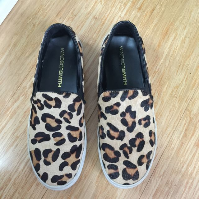 Windsor Smith Leopard Sneakers