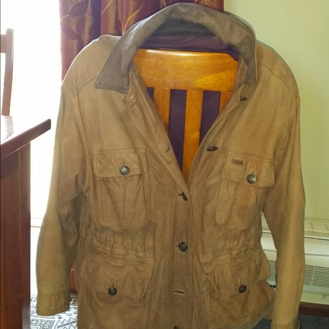 Winter Jacket Leather Timberland