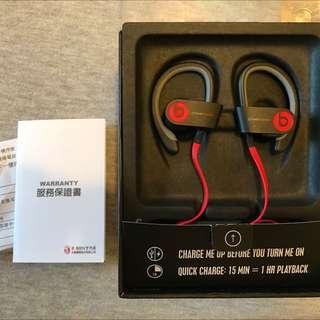 Beats 藍芽 運動耳機