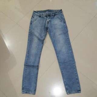 Preloved Unbranded Ladies Skinny Jeans