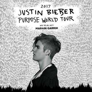 3 Justin Bieber Section 100 Tickets- September 5, 2017