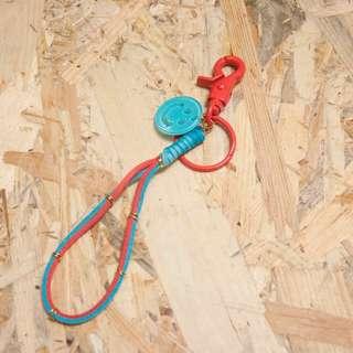 鑰匙圈 包包吊飾 掛飾 麂皮繩