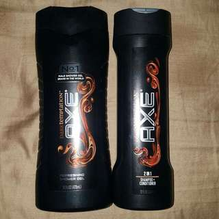 Axe Showering Gel & Shampoo+Conditioner