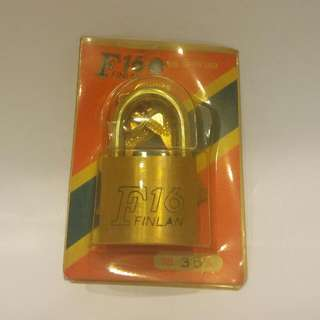 (含運100) 35mm半圓鎖孔銅掛鎖(短柄)含兩支鑰匙(建議掛鎖多買幾個才能節省運費)
