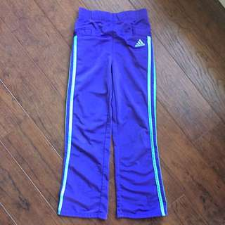 Purple Adidas 6x Pants