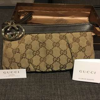 Trade/swap! Authentic Gucci Clutch/wristlet