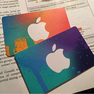 Brand New iTunes Gift Cards