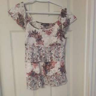 Almost Famous Floral Top