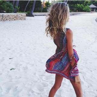 Camilla Fabric Of My Forebears Dress Bnwt