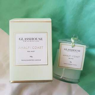 Glasshouse Candle - Sea Mist 60g