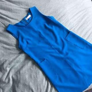 [Style Nanda] Retro Blue Dress