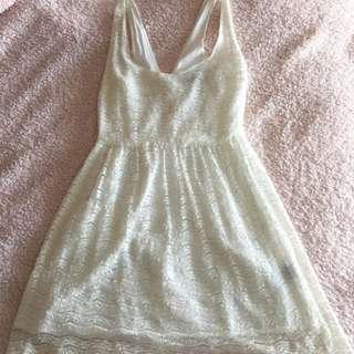 Lee White Dress