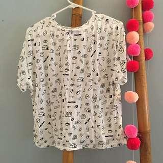 Funky Print Tshirt