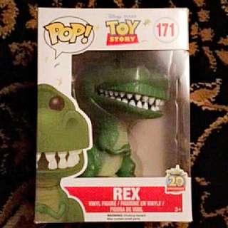 Rex Toy Story Funko Pop