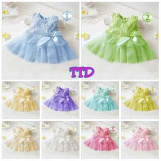 Ready Stock - Baby Gaun / Dresses (TTD)  - Clearance Offer!!
