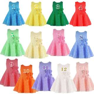 Ready Stock - Baby Gaun / Dresses (FLD) - Clearance Offer!!