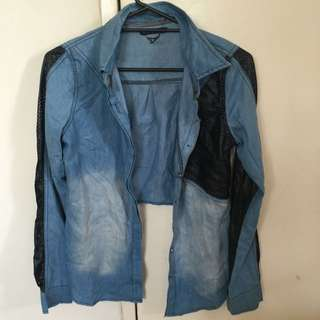 Refuge Size Small Denim Jacket