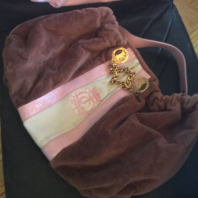 100% Authentic Juicy Couture Handbag With Dustnag