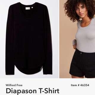 Aritzia Wilfred Free Diapson Shirt