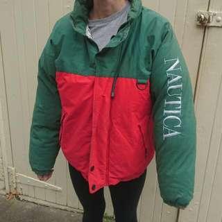 Vintage Nautica Puffer Jacket
