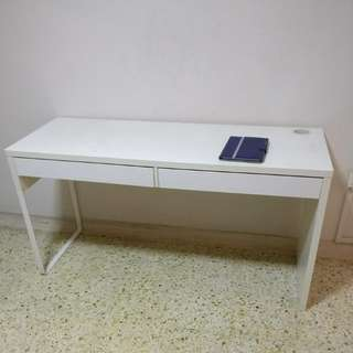 Ikea Computer Table With Free Chairs (Price Lowered For Quick Sale)
