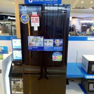brand new samsung ref bottom freezer (digital inverter)energy savings