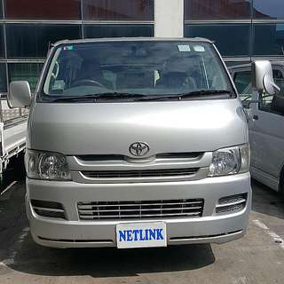 Lease/Rent **Toyota Hiace Euro 4** (Auto/Manual)