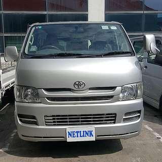 Lease/Rent **Toyota Hiace Euro 4** (Auto/Manual)